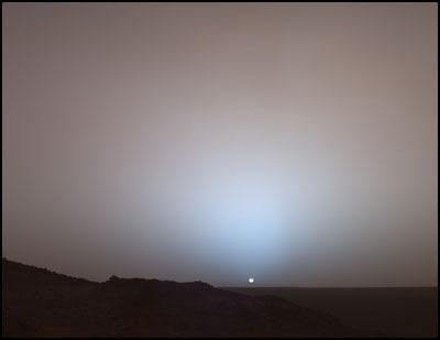 Ocaso marciano [clique para ampliar]