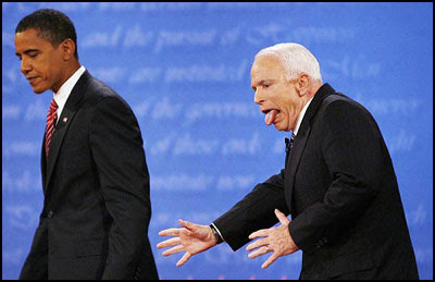 Obama e McCain - Jim Bourg