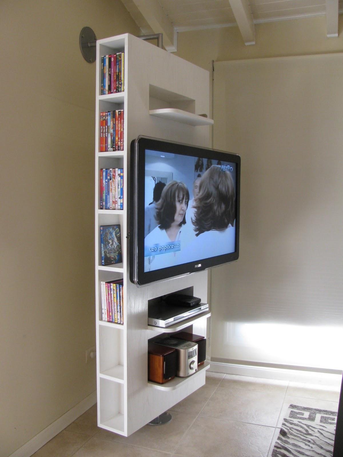 G soportes design mueble giratorio for Mueble giratorio 08
