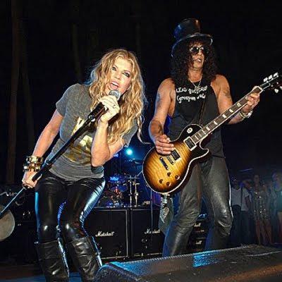 Fergie y Slash