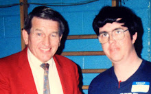 With Johnny Unitas
