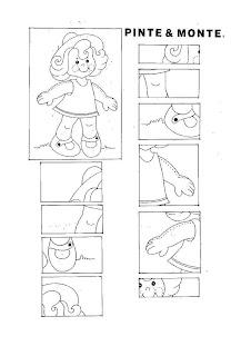 B Quebra cabe%C3%A7a boneca Afonsina ATIVIDADES 2 ANO para crianças