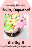 Hello, Cupcake Blog Hop Sat, February 26th at 12:01am
