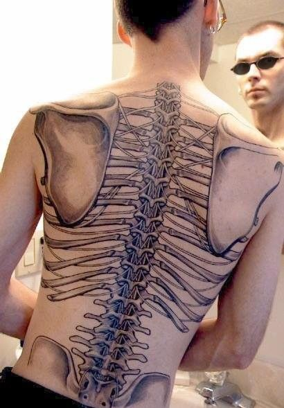tattoos on the back
