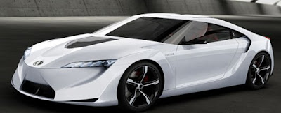 Concept: The Toyota FT-HS Rocket