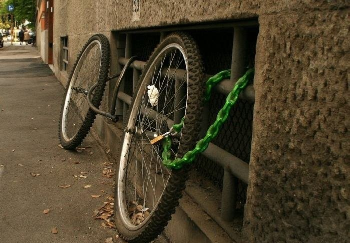 Bike security system fail