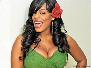 Niecy Nash, hostess of Clean House