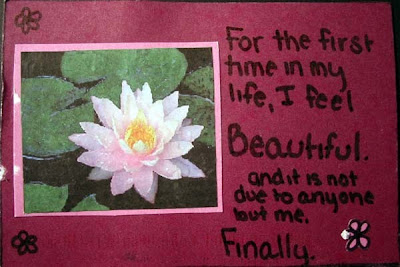 Post Secret - I feel beautiful
