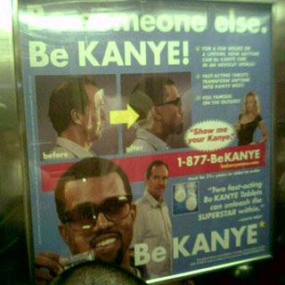 DIY Be Kanye West Kit