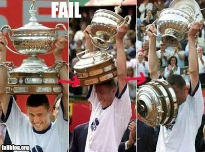 Another type of trophy fail
