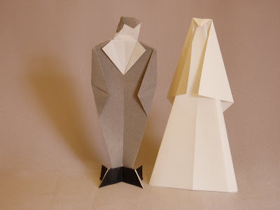 Fumblings Of An Origami Novice Masks And Human Figures