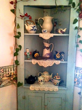 Donna-Marie's Tea Pot Hutch