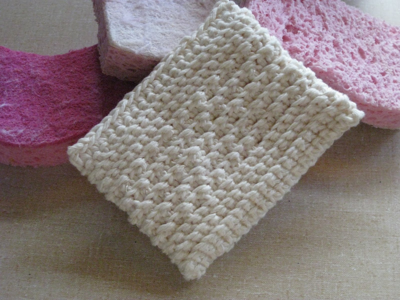 Crochet Patterns Scrubbies : ... crochet-pattern-for-multi-color-tawashi-scrubbie-japanese-dish