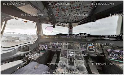 tuttovolume foto a 360 della cabina di pilotaggio del pi