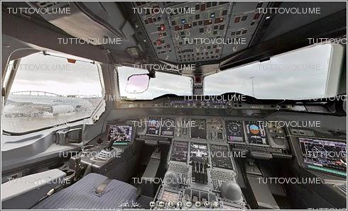 Tuttovolume foto a 360 della cabina di pilotaggio del pi for Planimetrie della cabina di log