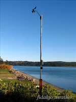 Fidalgo Weather's  Anemometer Mast