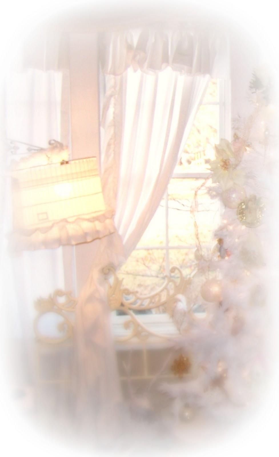 Olivia 39 S Romantic Home Shabby Chic Ruffle Curtain