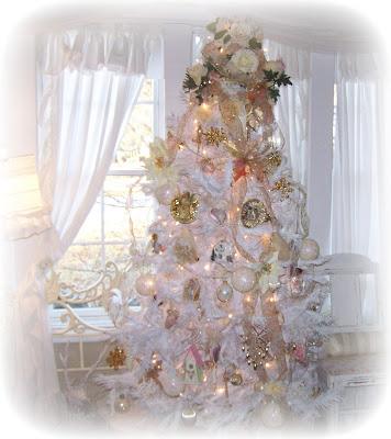 Olivia s romantic home shabby chic living room - Olivia S Romantic Home Shabby Chic Ruffle Curtain