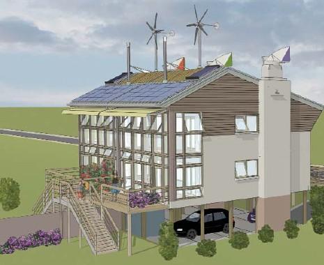Casas prefabricadas autosostenibles
