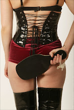 Floggers and paddles and cuffs! Oh, my!