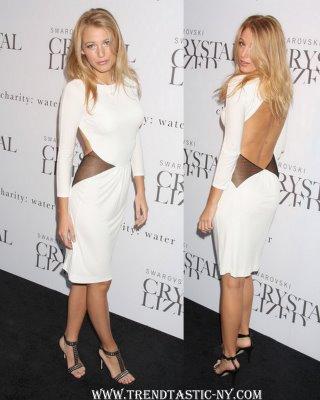 blake lively white dress