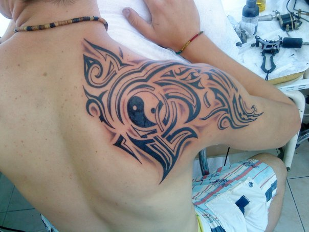 Here is some gangsta style tattoos and designs for men, very unique tattoos
