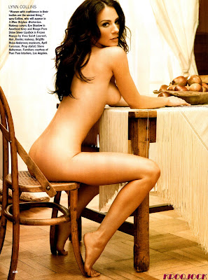 Has Lynn Collins ever been nude? - Nudography