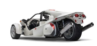 three wheel Campagna T-Rex concept