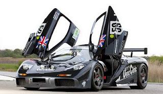 supercar McLaren's F1 GTR