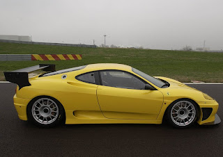 yellow ferrari car wallpaper