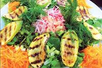 Izgara Kabaklı Kış Salatası Tarifi