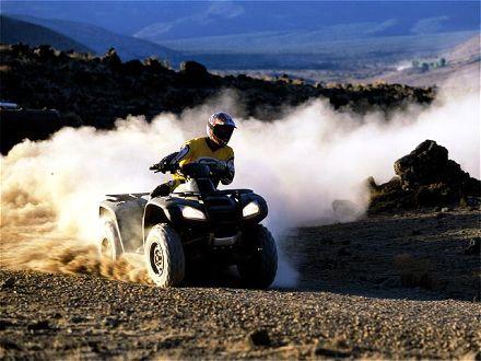 HONDA RINCON ATV PLOW