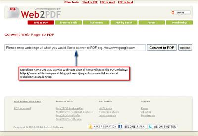 Merekam Halaman Web Dengan Web2 Pdf