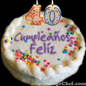 Feliz cumple GUILE1974 Torta+40