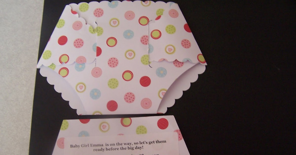Two Hands Creating: Baby Shower Invitations