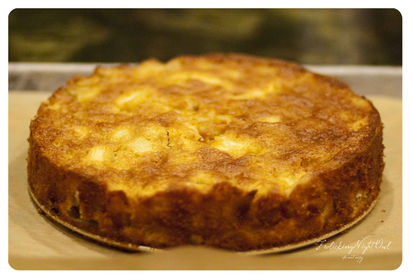 ... Night Owl: French Fridays with Dorie: Marie-Helene's Apple Cake