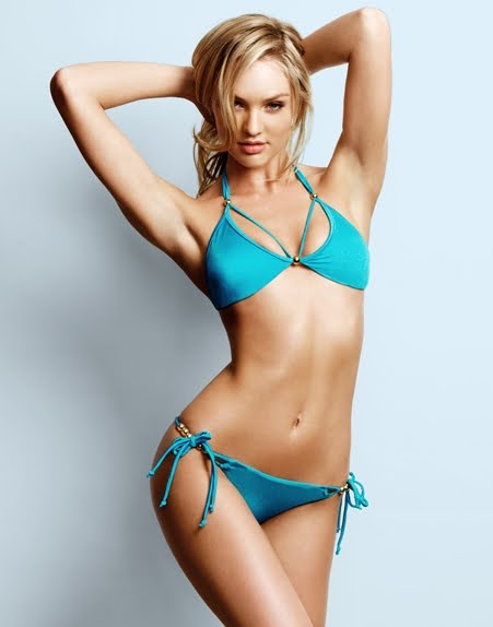 Candice Swanepoel Bikini Girls HD Wallpaper