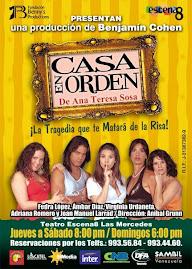 """Afiche: """"CASA EN ORDEN"""" Remontaje..."""