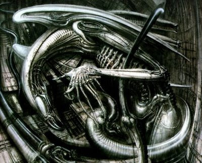 hr giger art. Alien Month: HR Giger#39;s