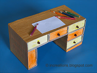 Matchbox Desk