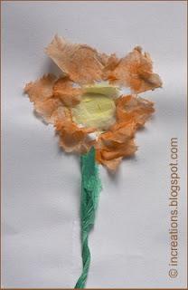 Chigiri-e Flowers