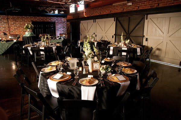 Black And White Rustic Wedding