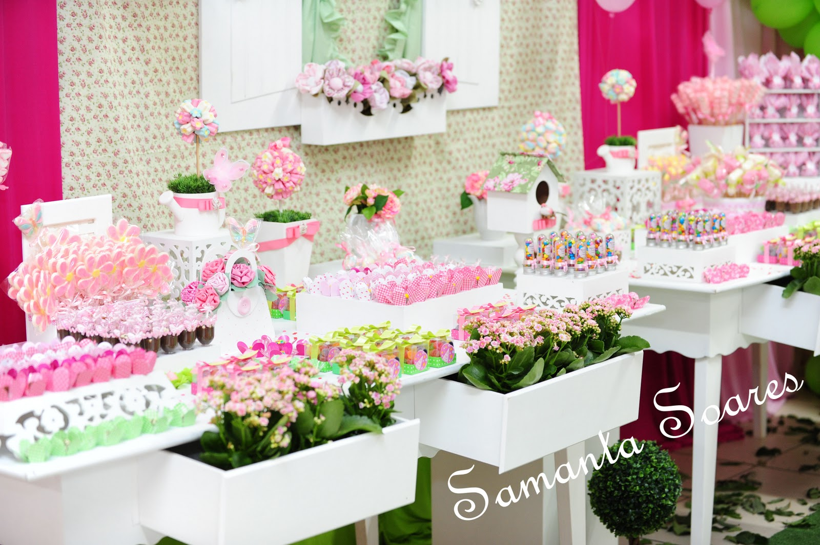mesa de doces tema jardim ? Doitri.com