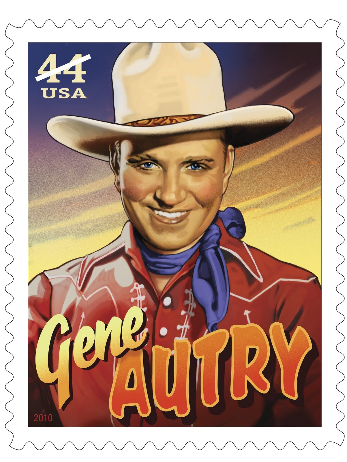 Gene Autry Stamp