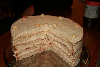 Hazelnuss gateux / torte