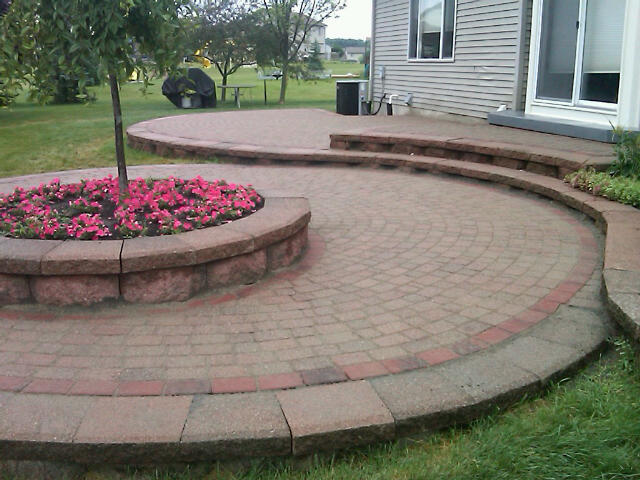 Raised Patio Pavers