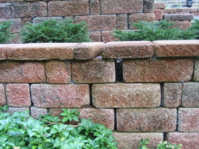 Retaining Wall Block Cleaner : Canton plymouth northville novi michigan repair cleaning sealing