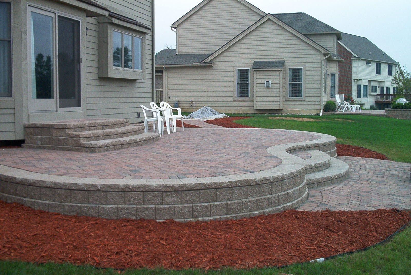 Brick Pavers Cantonplymouthnorthvillenovi Michigan - brick wall patio designs small home