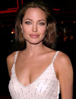 of Angelina Jolie naked