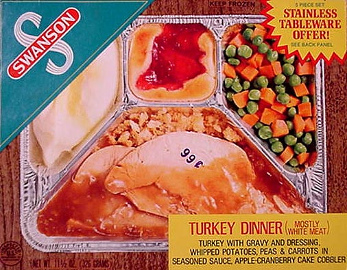 Image result for swanson's tv dinners
